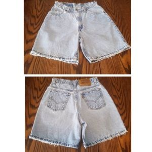 VINTAGE 950 3 JUNIOR RELAXED FIT SHORTS